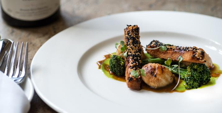 Harrogate restaurants clocktower rudding park for Perfect kitchen harrogate menu