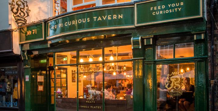 Mr P's Curious Tavern York January Restaurant Offers 2018