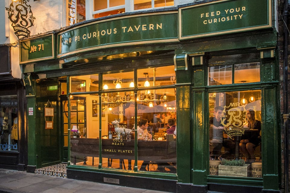 Mr P's York Exterior Shot
