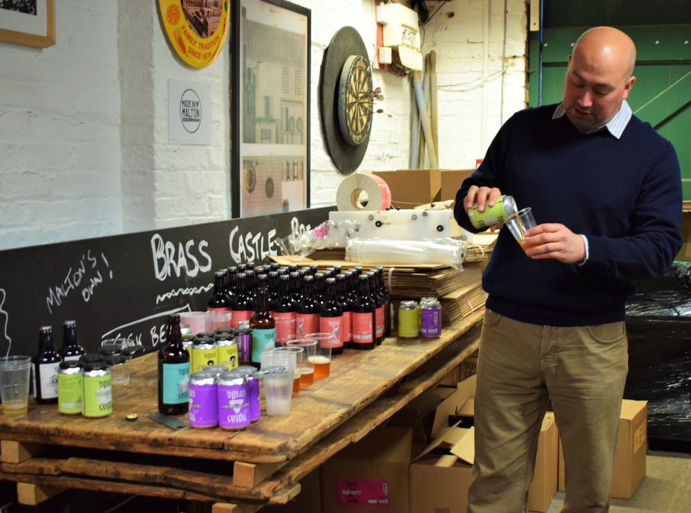 malton food tour brass castle brewery talbot yard