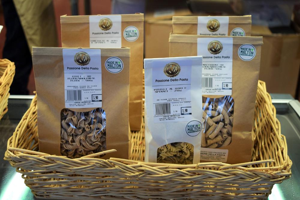Passione Della Pasta fresh pasta malton food tour talbot yard 1