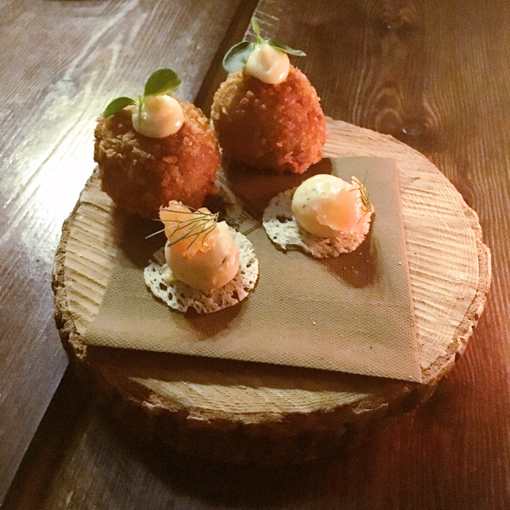 Michelin Starred Chef Andrew Pern serves up his Harome Menu at The Star Inn the City York