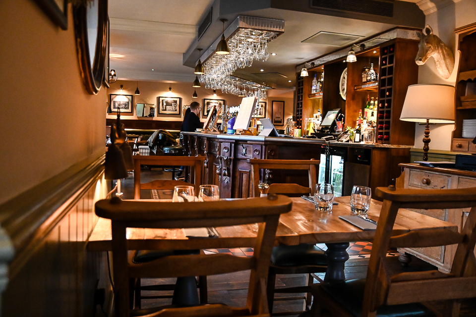 The Plough at Scalby review - Restaurant interior