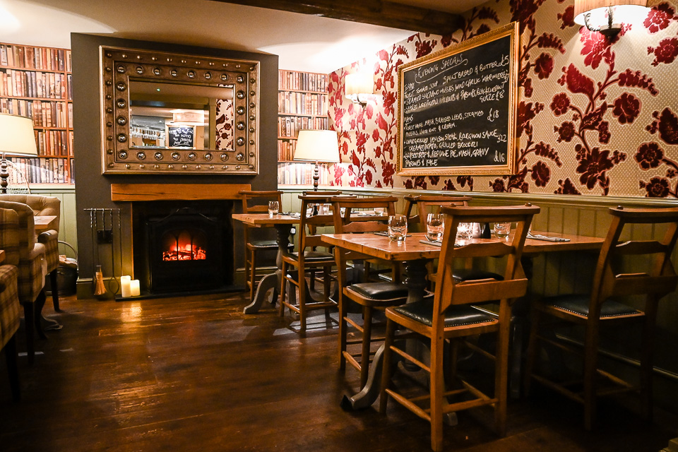 The Plough at Scalby Review - bar