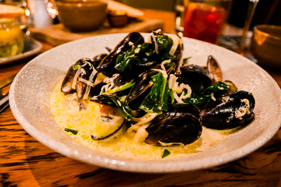 The Plough at Scalby Review - mussels starter