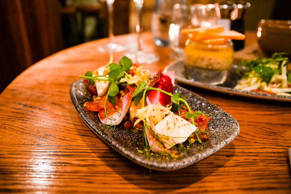 The Plough at Scalby Review - starter dish
