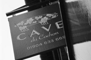 cave du cochon york wine bar