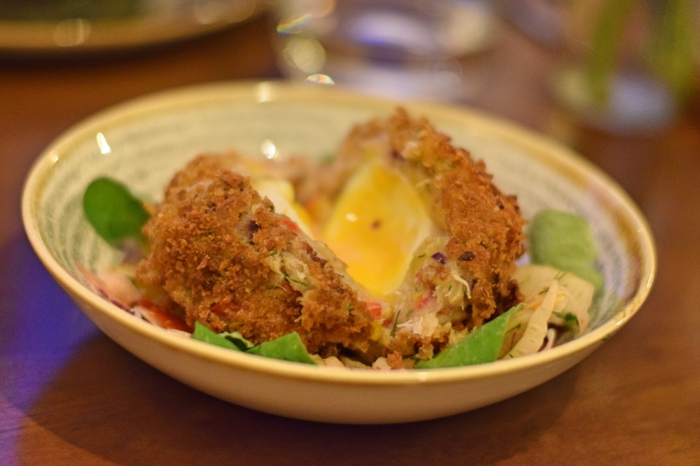 Rising Sun Inn Sheffield Review Fulwood Road crab scotch egg