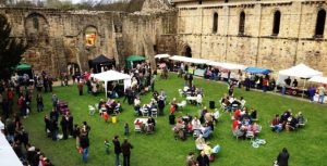April events yorkshire 2017 kirkstall abbey deli market Leeds