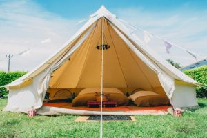Bell Tents Newby Hall Food Festival Glamping
