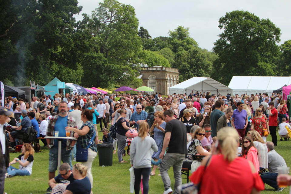Great British Food Festival Harewood House Crowd