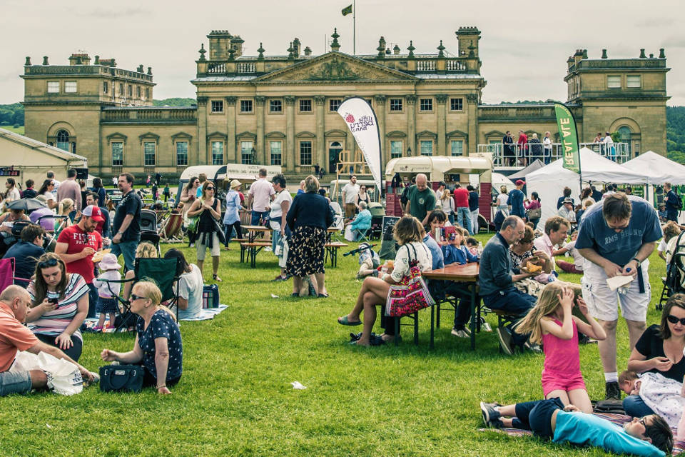 Great British Food Festival at Harewood House Families