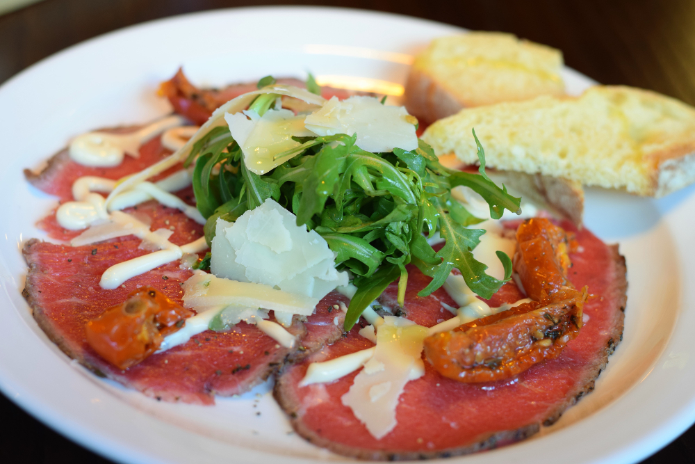 Salvo's Headingley Review - Leeds Italian Restaurants - Best Yorkshire Restaurants - Beef Carpaccio