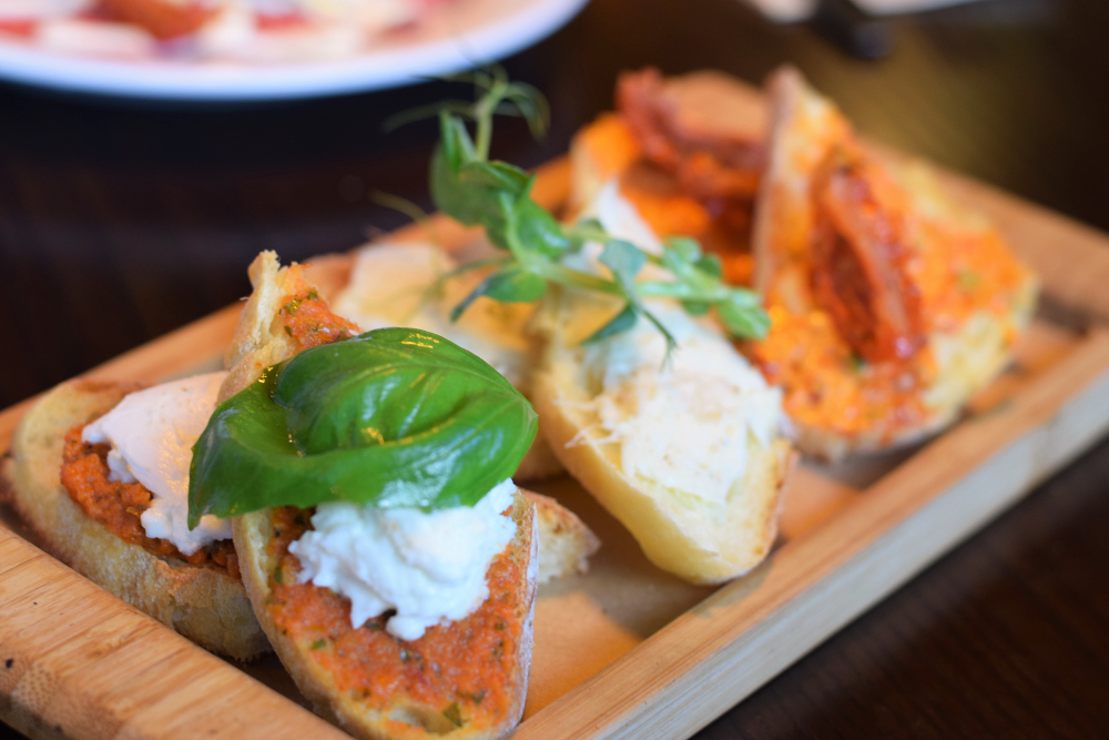 Salvo's Headingley Review - Leeds Italian Restaurants - Best Yorkshire Restaurants - Bruschetta