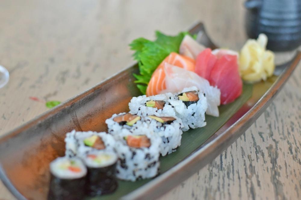 Issho Leeds Japanese Restaurant Victoria Gate sushi