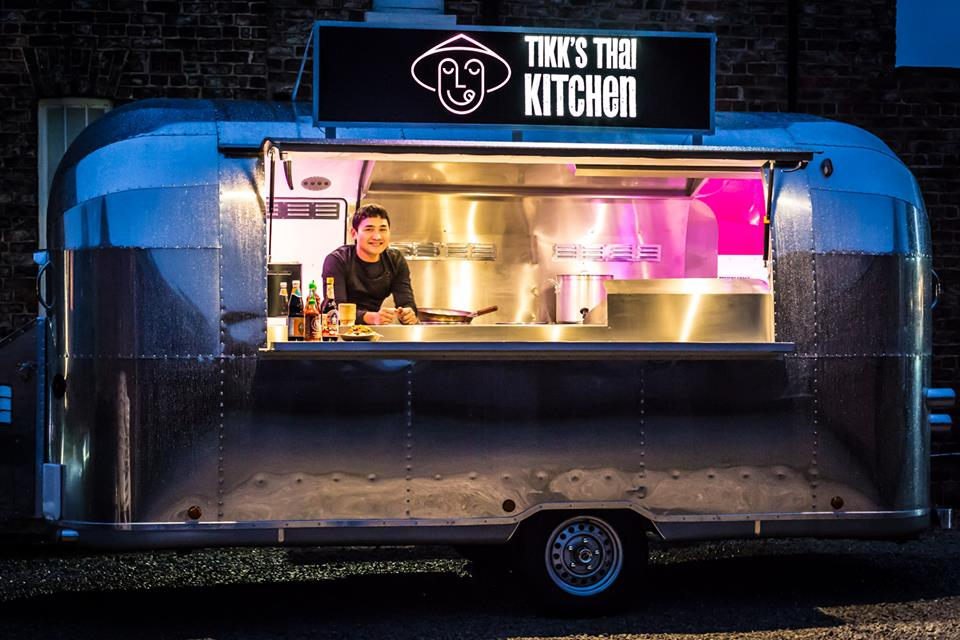 Tikk's Thai Kitchen Newby Hall Street Food Festival 2