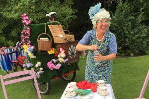 tea ladies Newby Hall Food Festival