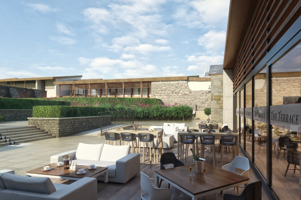 East 59th leeds new manhattan style rooftop bar and grill for Terrace on the park restaurant