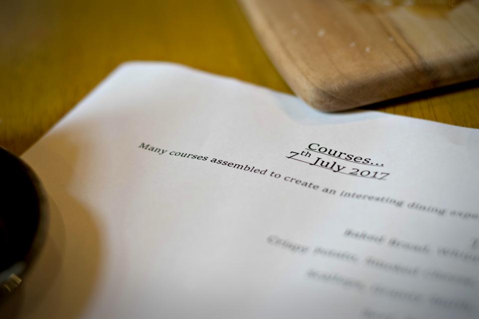 Review Courses Pop Up Restaurant Sheffield Best Restaurants