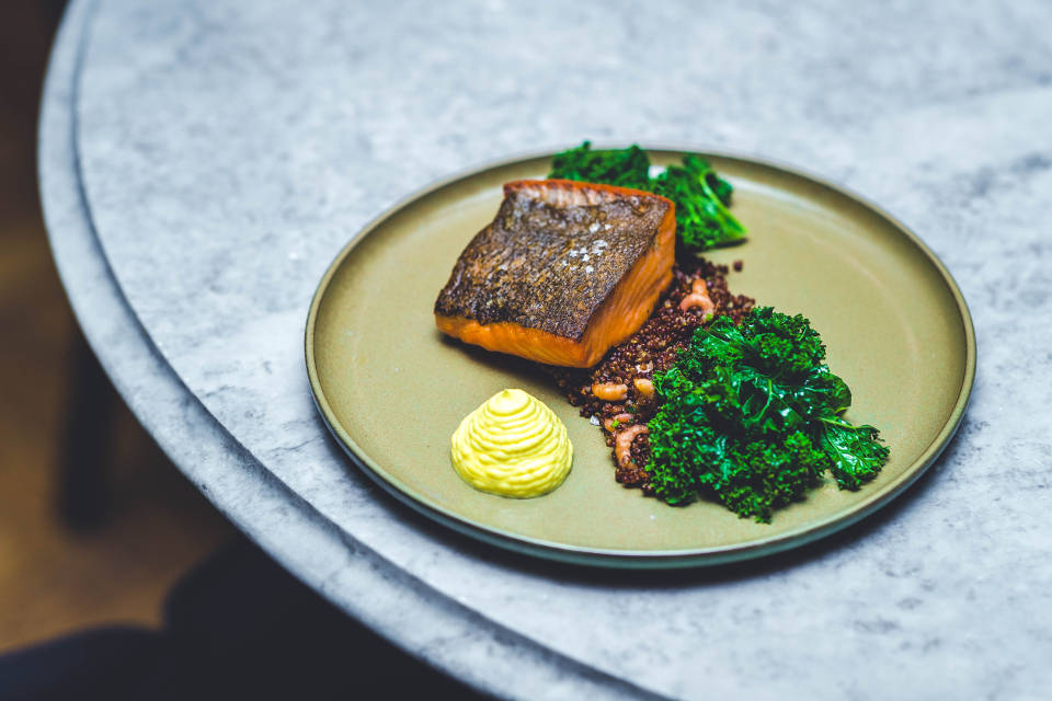 Sea Trout at The Rise York Restaurant Review