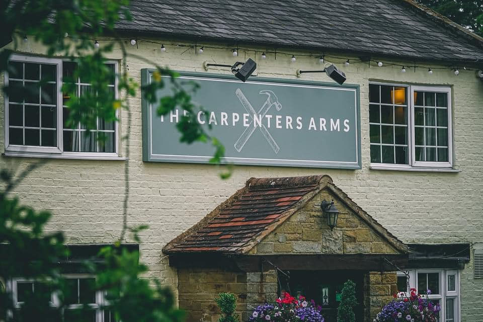Carpenters Arms Thirsk Sign