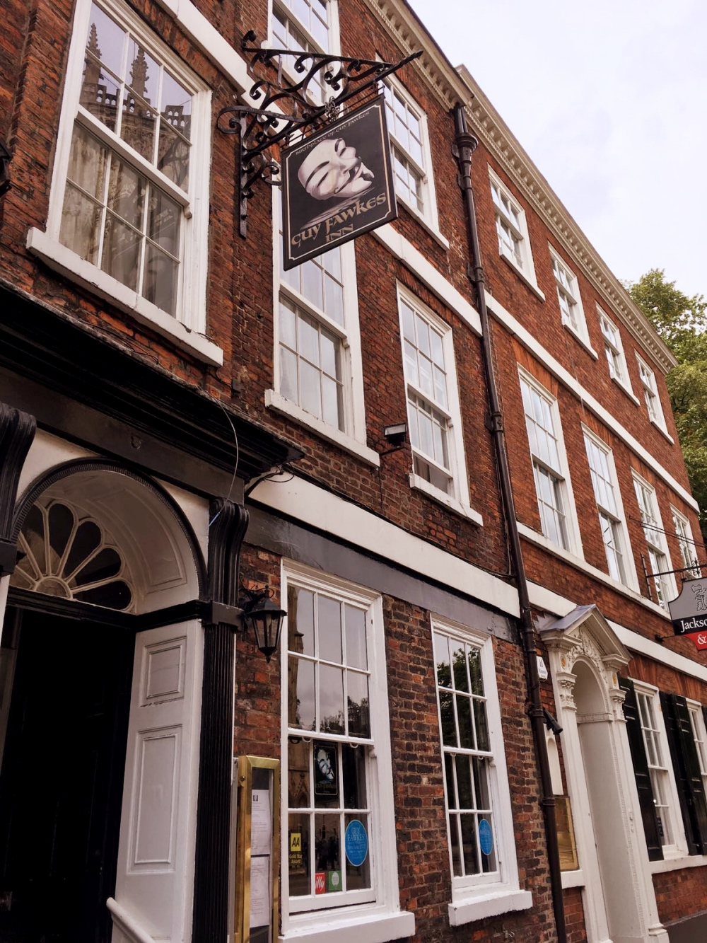 Guy Fawkes Inn York Review