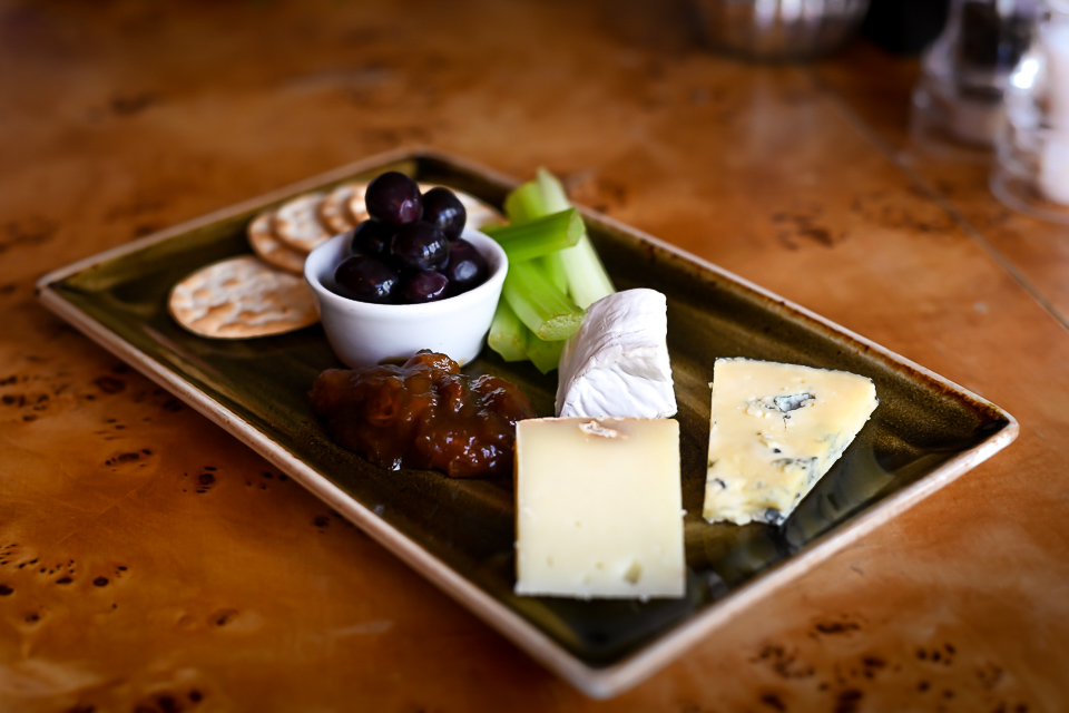Carpenters Arms Felixkirk cheese board
