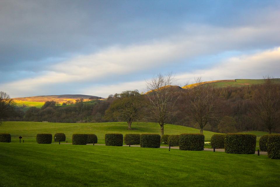 Devonshire Arms Bolton Abbey Landscape