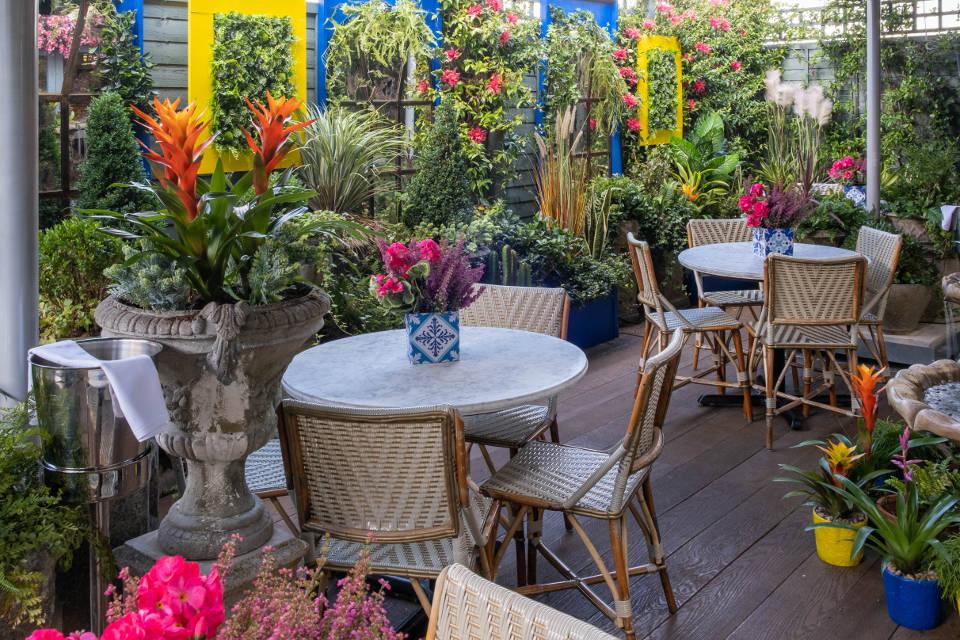 The Ivy Harrogate Moroccan Terrace Pop Up