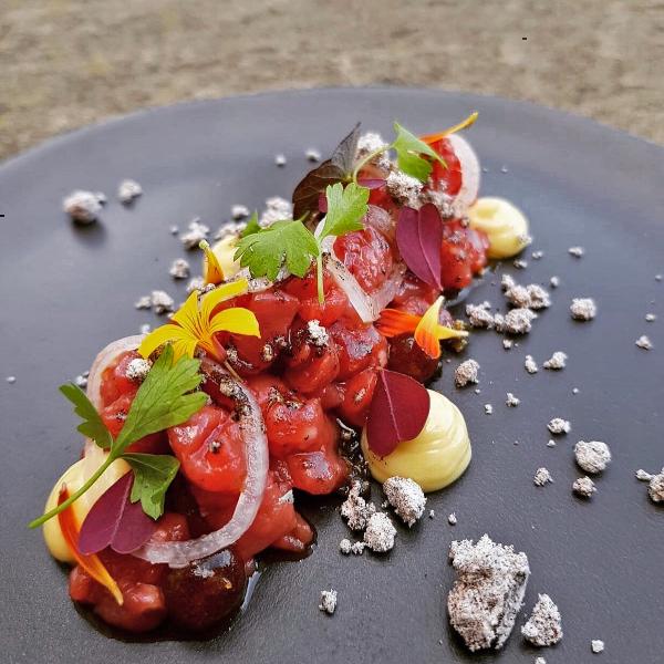 Beef Tartare Goldsborough Hall Review Royal Tasting Menu