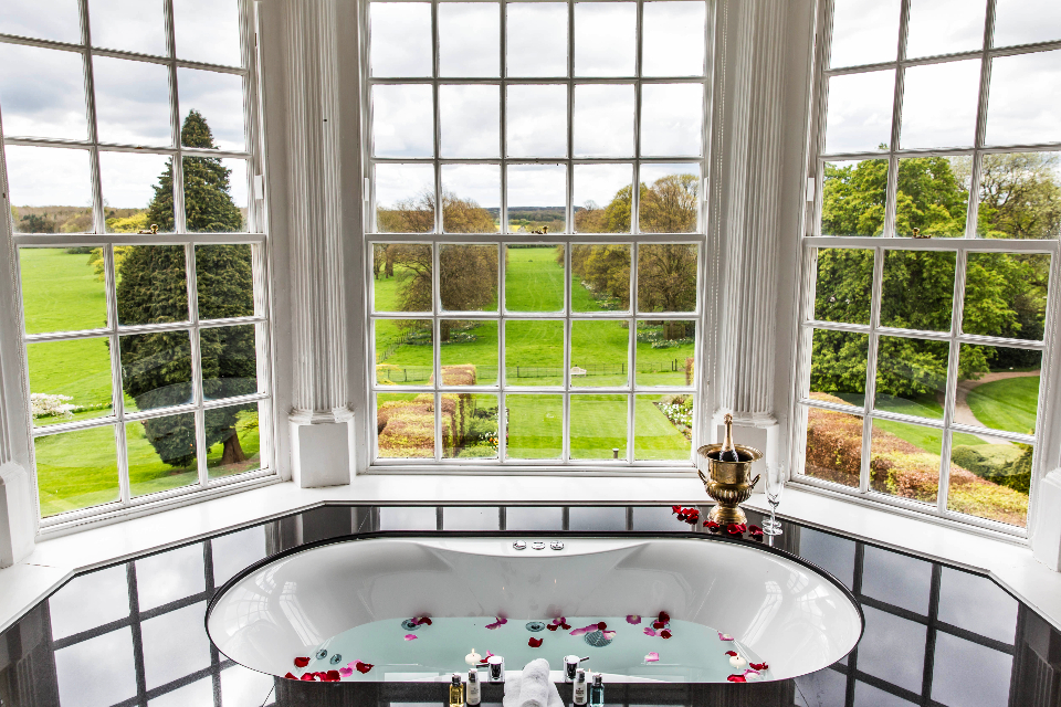 Goldsborough Hall Review Bath with views