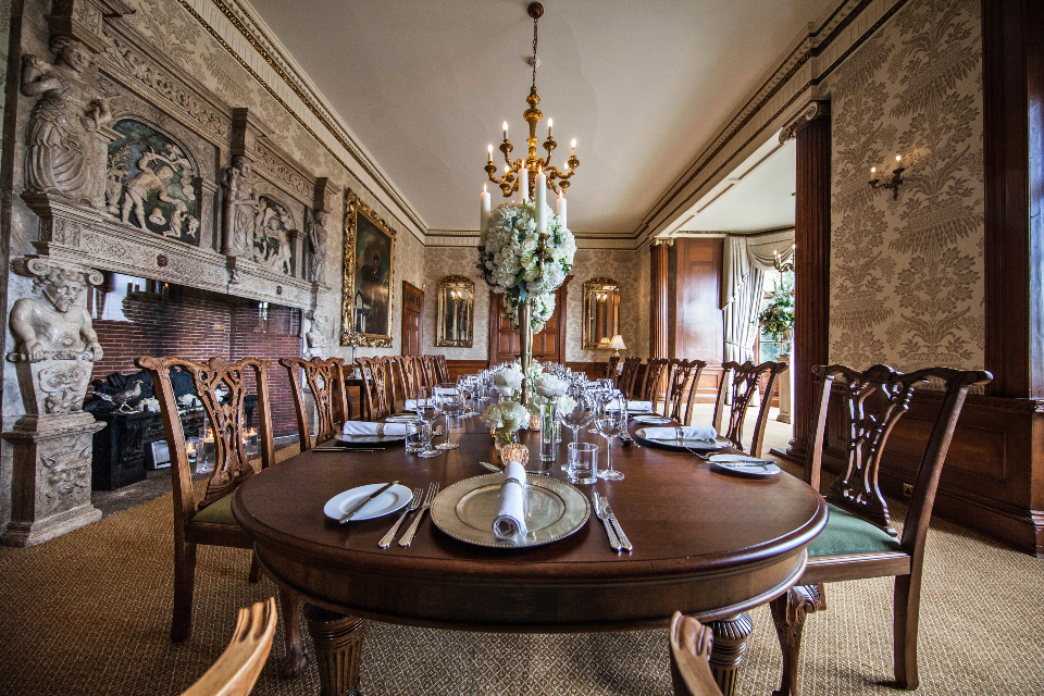 Goldsborough Hall Review Dining Room