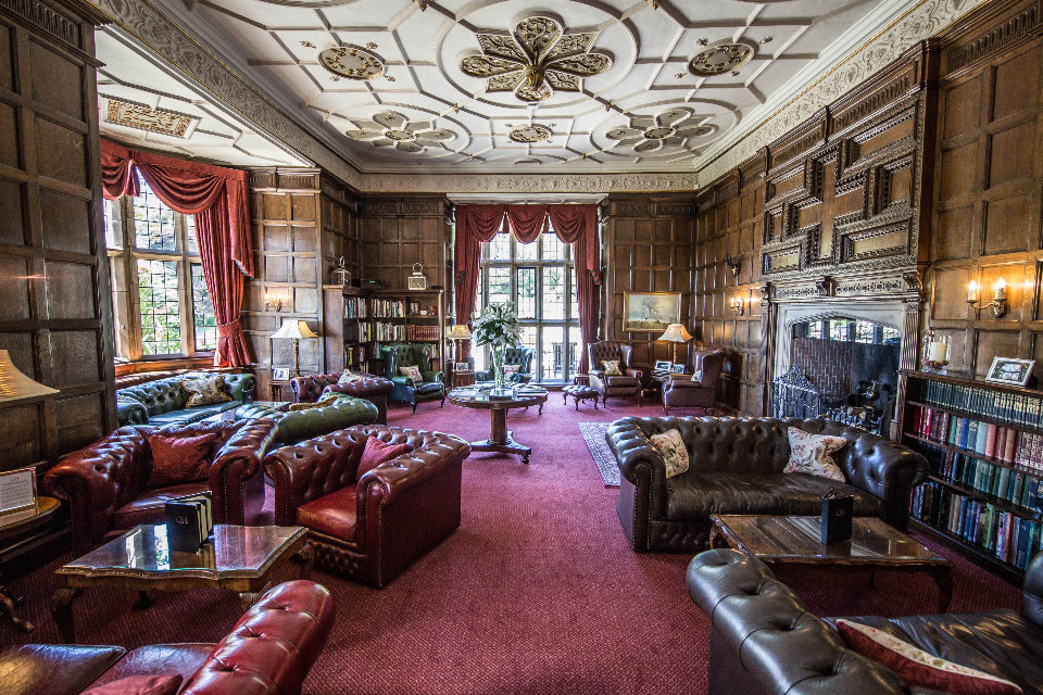 Goldsborough Hall Review Jacobean Library