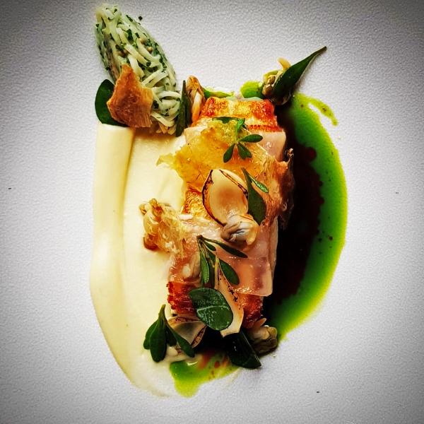 Halibut Goldsborough Hall Review Royal Tasting Menu