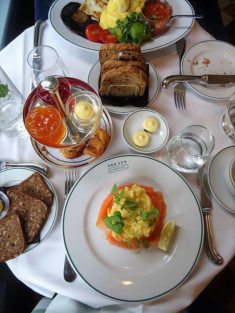The Ivy Harrogate Review Breakfast
