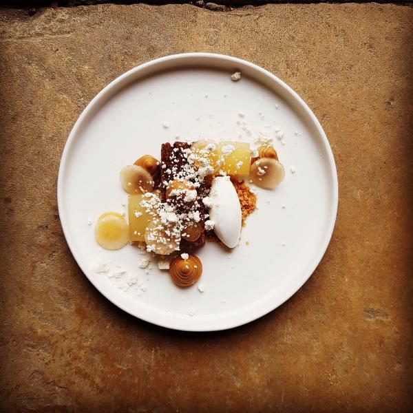Walnut Cake Goldsborough Hall Review Royal Tasting Menu