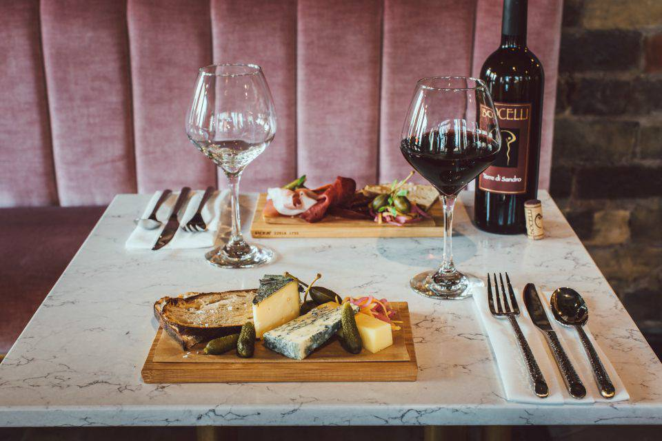 Bocelli Sheffield Offer Charcuterie and Cheese Board example