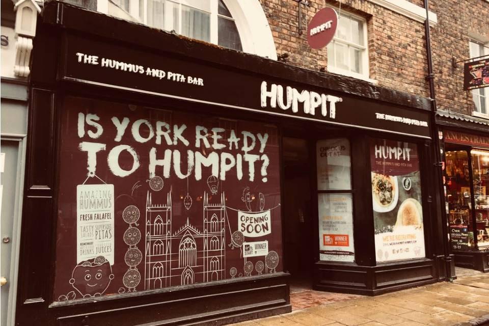 humpit hummus york opening