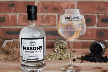 Mason's Gin Afternoon Tea