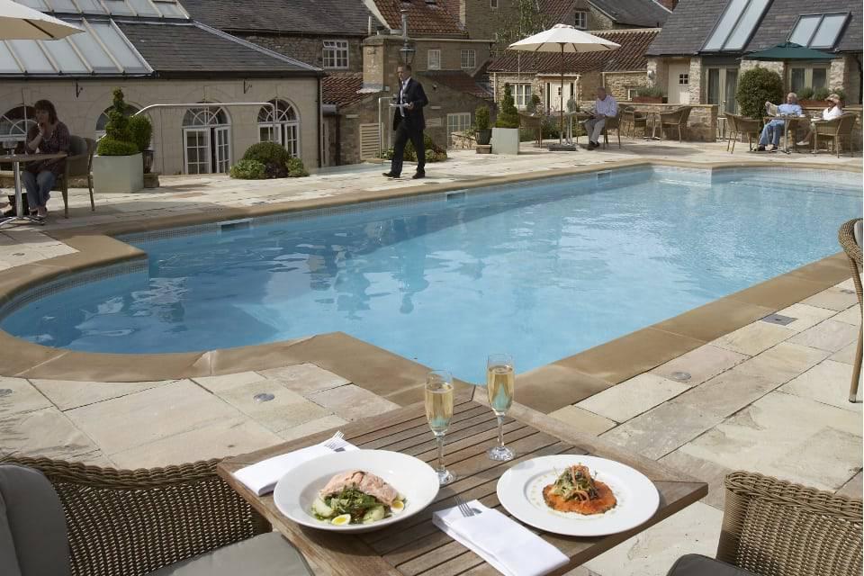 Feversham Arms Helmsley Poolside Dining