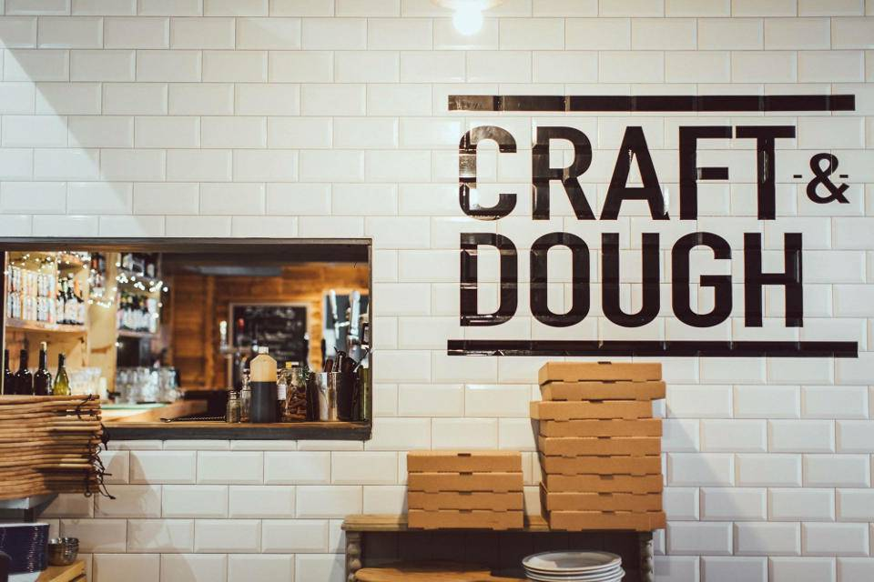 Craft and Dough Bottomless Brunch Offer interior example