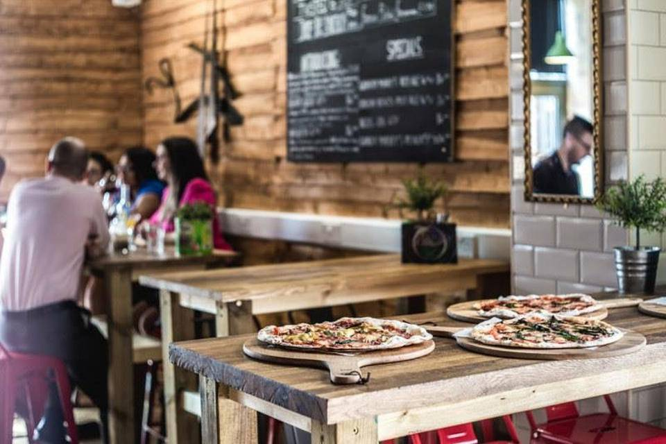 Craft and Dough Sheffield Pizza Campo Lane
