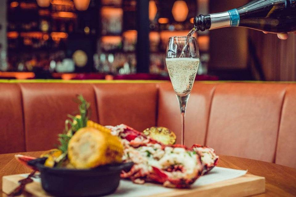 East 59th Leeds Offer Lobster and Fizz