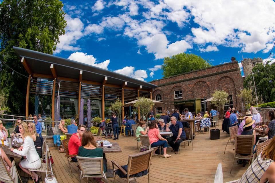 Star Inn the City York beer garden