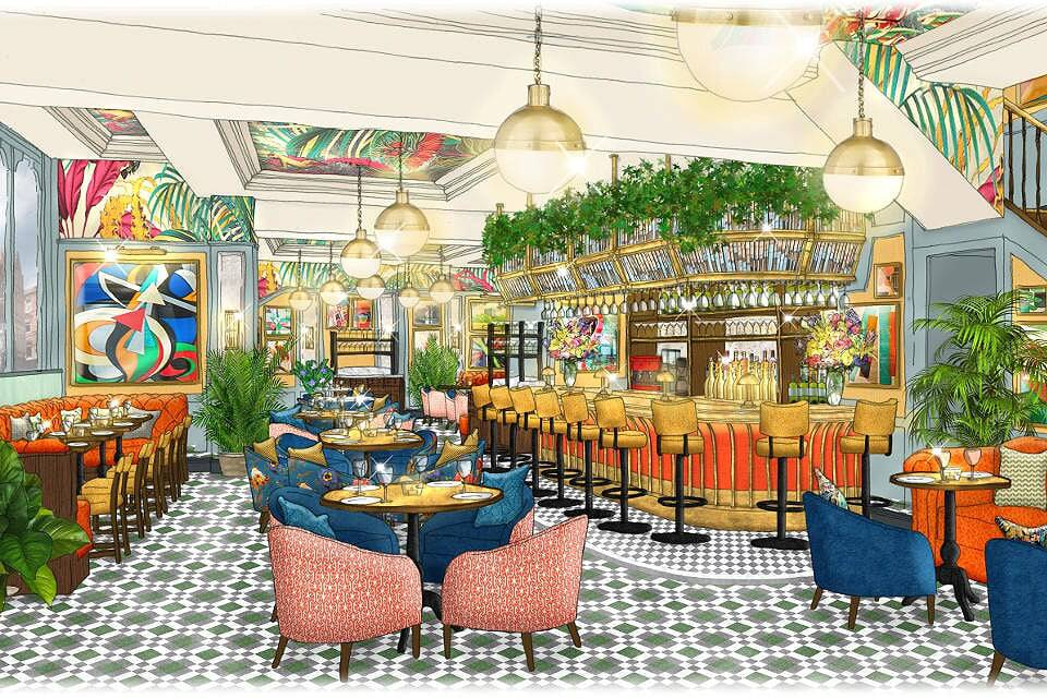 The Ivy Leeds Artist Impression
