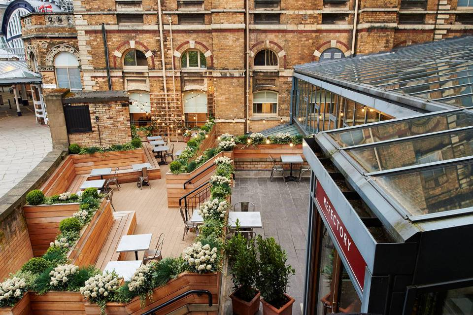 Refectory York offer outdoor terrace area image