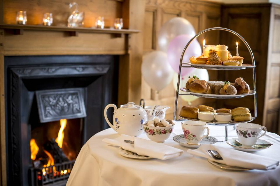 Black Swan Helmsley Afternoon Tea with Open Fire