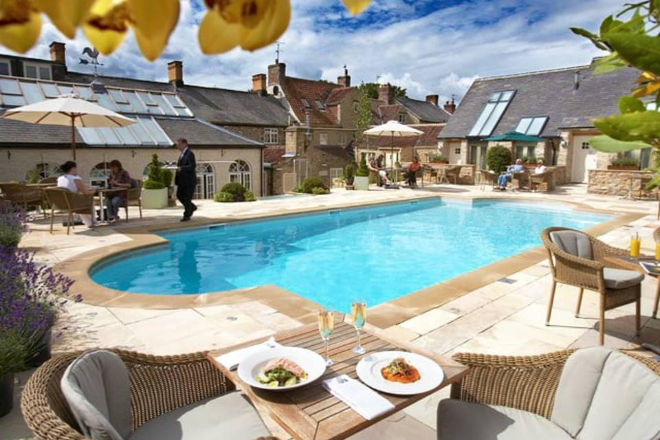 Feversham Arms Helmsley Poolside Dining