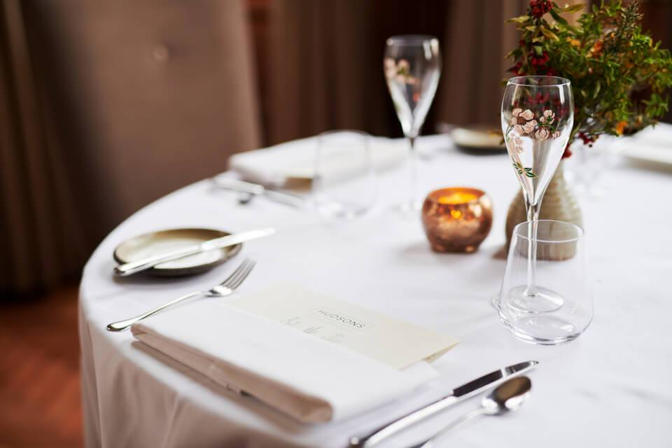 Valentine's Day Hudsons by Craig Atchinson York offer table setting
