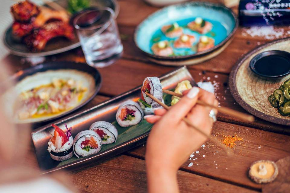 Issho Leeds Offer example dishes